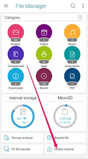 Download Asus File Manager App Hidden Cabinet Feature which Hide Pictures Videos etc On Android Phones