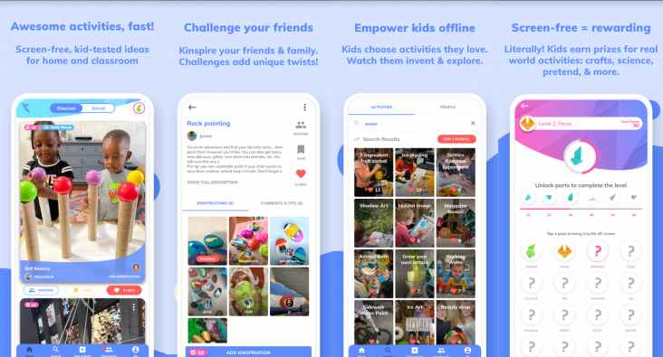 kinspire app for kids android ios